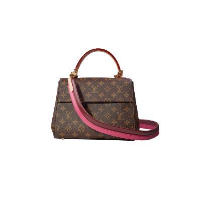monogram cluny medium brown